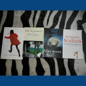Book Bundle The Notebook Blue Moon Running With sc